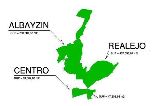 Plano zonas de control de accesos