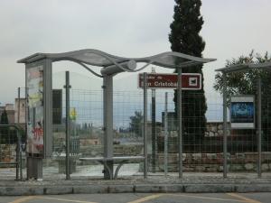 Dársena turística en el Mirador de San Cristóbal