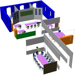 3D View of Center for the Integrated Management of Mobility
