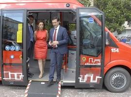 Nuevos microbuses urbanos