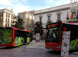 buses híbridos granada