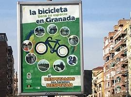 La bicicleta tiene su espacio en Granada