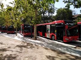 Nuevos buses híbridos Granada
