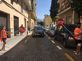 School traffic regulators granada 2020