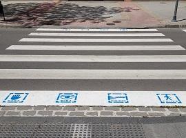 TEA Granada Pasos de peatones pictogramas