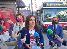 parada demanda bus búho presentación granada