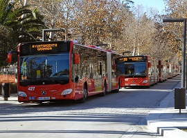 Urban bus additional measures Granada 2020