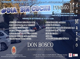 Domingo Sin Coche Granada en Don Bosco