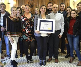 Award Spanish Week of Mobility Granada 2018