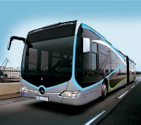 Bus de la L�nea de Alta Capacidad de Granada